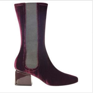 SIGERSON MORRISON Eartha Boot, Burgundy